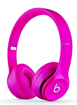 beats by dr.dre Solo2 オンイヤー・ヘッドフォン PINK