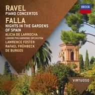 アリシア・デ・ラローチャ/Ravel: Piano Concertos; Falla: Nights in the Gardens of Spain[4786966]