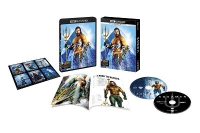アクアマン [4K Ultra HD Blu-ray Disc+Blu-ray Disc]<初回仕様版/ブックレット&キャラクターステッカ Ultra HD