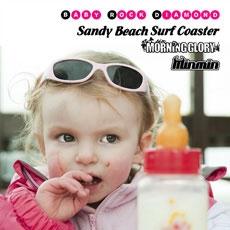 Sandy Beach Surf Coaster/Baby Rock Diamond -GIRL'S-[BGVA-1001]