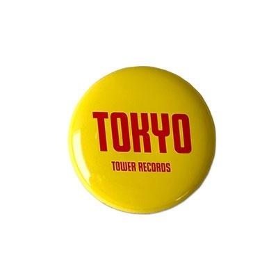 タワレコ 缶バッジ TOKYO Yellow[MD01-5617]