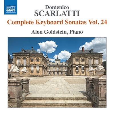 アロン・ゴールドスタイン/D.スカルラッティ: 鍵盤のためのソナタ全集 第24集[8574196]