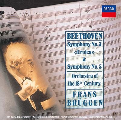 フランス・ブリュッヘン/ベートーヴェン: 交響曲第3番「英雄」&第5番「運命」 [PROC-1749]