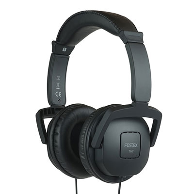 FOSTEX/ステレオヘッドホン/TH7/ブラック [TH7BK]