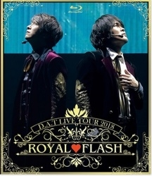 D.A.T LIVE TOUR2018「ROYAL FLASH」 Blu-ray Disc