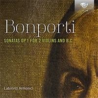 アッソチアツィオーネ・ラビリンティ・アルモニチ/F.A.ボンポルティ: 2つのヴァイオリンと通奏低音のためのソナタ Op.1[BRL95966]