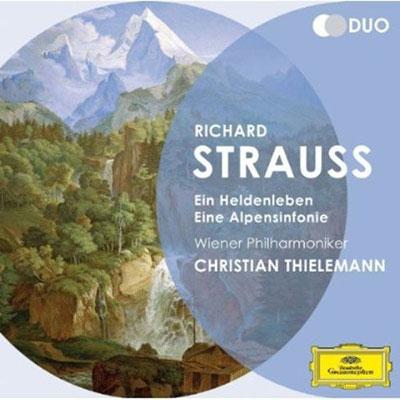 クリスティアン・ティーレマン/R.Strauss: Ein Heldenleben, Eine Alpensinfonie[4791426]