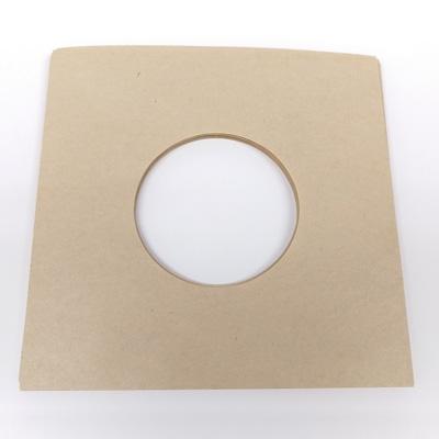 disk union EP用紙製内袋/両面穴あき/クラフト色 (10枚セット) [C17D7]