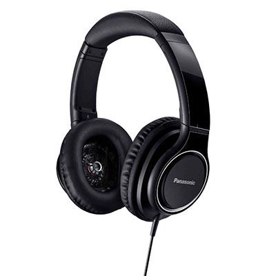 Panasonic ハイレゾ対応 ステレオヘッドホン RP-HD5 Black [RP-HD5-K]