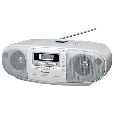 Panasonic ポータブルステレオCDラジカセ RX-D45  [RX-D45-W]