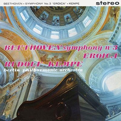 ルドルフ・ケンペ/ベートーヴェン: 交響曲第3番「英雄」, 序曲集(5曲) [TDSA-26]