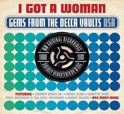 I Got A Woman Gems From The Decca Vaults USA 1960-1961[DAY3CD036]