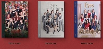 Eyes Wide Open: Twice Vol.2 (ランダムバージョン) CD