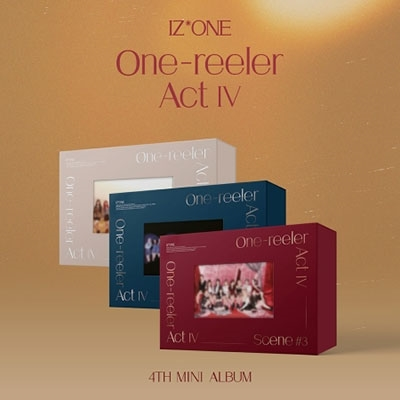One-reeler/Act IV: 4th Mini Album (ランダムバージョン) CD