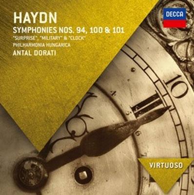 アンタル・ドラティ/Haydn: Symphony No.94, No.100 &No.101[4785406]