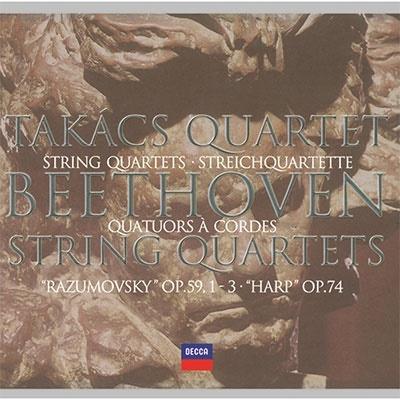ベートーヴェン:中期弦楽四重奏曲集(第7~10番)<限定盤> UHQCD