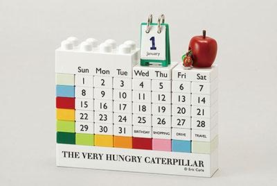 はらぺこあおむし(ブロックカレンダー) Calendar