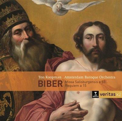 トン・コープマン/Biber: Missa Salisburgensis, Requiem[2564619536]