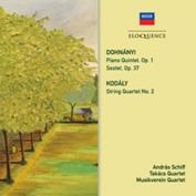 アンドラーシュ・シフ/E.Dohnanyi: Piano Quintet No.1, Sextet Op.37; Kodaly: String Quartet No.2[4807406]