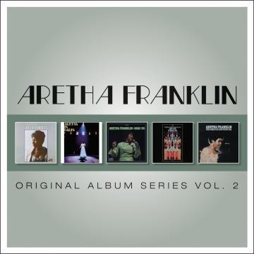 Aretha Franklin/5CD Original Album Series Vol.2[8122796506]