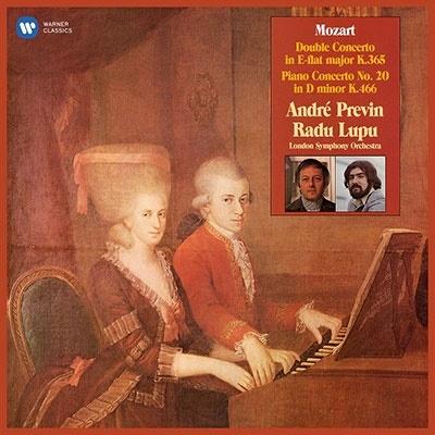 アンドレ・プレヴィン/モーツァルト: ピアノ協奏曲第10 &20番[9029544336]