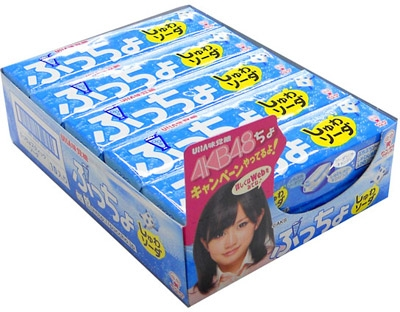 ぷっちょスティック ソーダ (BOX)