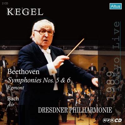 ヘルベルト・ケーゲル/Beethoven: Symphony No.5, No.6, Egmont Overture; J.S.Bach: Aria on G[ALTHQ055]