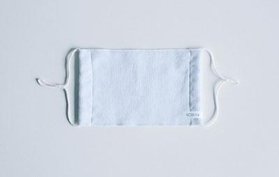 今治サマーマスク【COOlly | クーリイ】 2枚セット/抗菌マスクケース付き(ブルー) Accessories