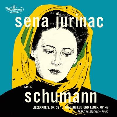 セーナ・ユリナッチ/シューマン: 歌曲集《リーダー・クライス》, 《女の愛と生涯》; レスピーギ: 夕暮れ [PROC-1646]