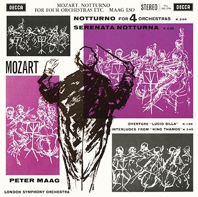 ペーター・マーク/モーツァルト名演集~セレナード第8番、第6番、6つのドイツ舞曲集、交響曲第32番・第38 SACD Hybrid