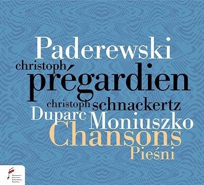 パデレフスキ、モニューシュコ、デュパルク: 歌曲集