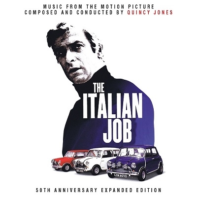 Quincy Jones/The Italian Job (50th Anniversary Expanded Edition)[QR406]