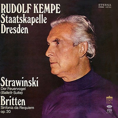 ルドルフ・ケンペ/ストラヴィンスキー: 火の鳥組曲、ブリテン: シンフォニア・ダ・レクイエム、ペンデレツキ: 広島の犠牲者に捧げる哀歌、ストラヴィンスキー: プルチネルラ組曲<