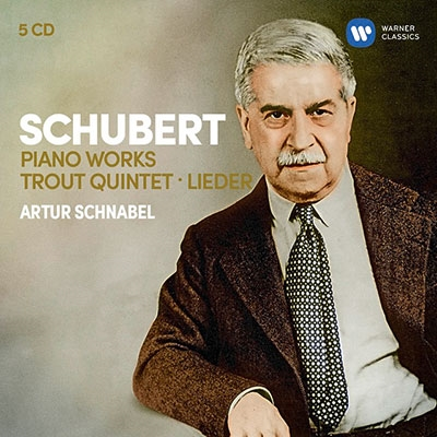 アルトゥール・シュナーベル/シューベルト: ピアノ作品集、ます、歌曲集[9029563376]