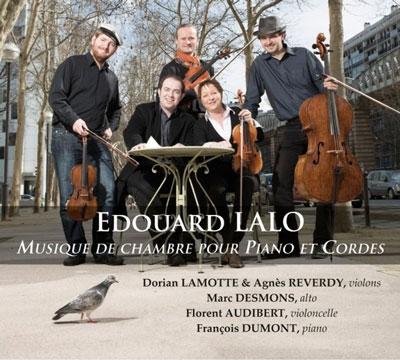 ドリアン・ラモット/Lalo: Musique de Chambre pour Piano et Cordes[CC777706]