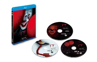 "IT/イット THE END ""それ""が見えたら、終わり。 [2Blu-ray Disc+DVD]<初回仕様版> Blu-ray Disc"