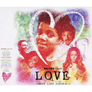 The Jackson 5/ラヴ MOTOWN presents ベスト・ラヴ・ソングス[UICZ-1335]