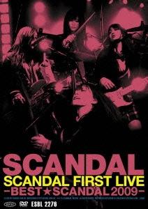 SCANDAL/SCANDAL FIRST LIVE -BEST★SCANDAL 2009-[ESBL-2276]