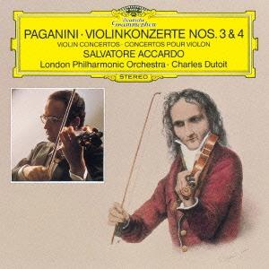 サルヴァトーレ・アッカルド/パガニーニ:ヴァイオリン協奏曲第3番・第4番[UCCG-6072]