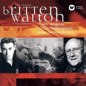 マキシム・ヴェンゲーロフ/ブリテン:ヴァイオリン協奏曲 ウォルトン:ヴィオラ協奏曲 [WPCS-50858]