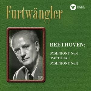 ヴィルヘルム・フルトヴェングラー/ベートーヴェン:交響曲第6番「田園」&第8番 [WPCS-12894]