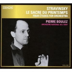 ピエール・ブーレーズ/ストラヴィンスキー:春の祭典/管弦楽のための四つのエチュード<タワーレコード限定>[TWSA-1009]