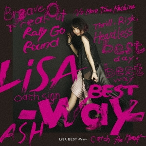 LiSA BEST -Way-<通常盤> CD