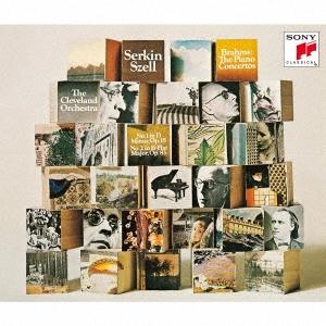ルドルフ・ゼルキン/【ワケあり特価】ブラームス: ピアノ協奏曲第1, 2番、モーツァルト: ピアノ協奏曲第19, 20番 (2020年 DSDリマスター)<完全生産限定盤>[SICC-10323W]