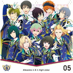 THE IDOLM@STER SideM 5th ANNIVERSARY DISC 05 Altessimo&彩&High×Joker 12cmCD Single