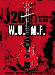 J/J 20th Anniversary Live FILM W.U.M.F. -Tour Final at EX THEATER ROPPONGI 2017.6.25- [Blu-ray Disc+CD+PHOTO BOOK]<初回生産限定盤>[CTXD-20075B]