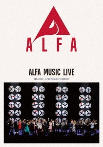 ALFA MUSIC LIVE ALFA 50th Anniversary Edition [2Blu-ray Disc+2Blu-spec CD2]<完全生産限定盤> Blu-ray Disc