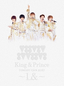 King & Prince CONCERT TOUR 2020 ~L&~ [2Blu-ray Disc+フォトブックレット]<初回限定盤> Blu-ray Disc
