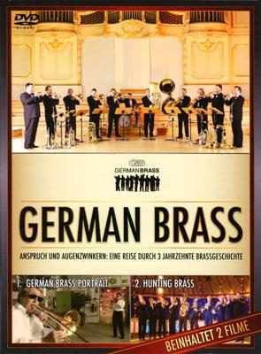 German Brass Portrait & Hunting Brass