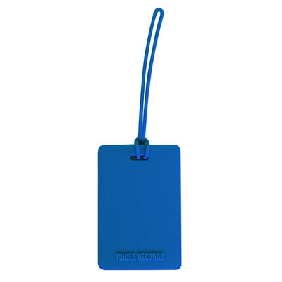 タワレコ ネームタグ Blue Accessories